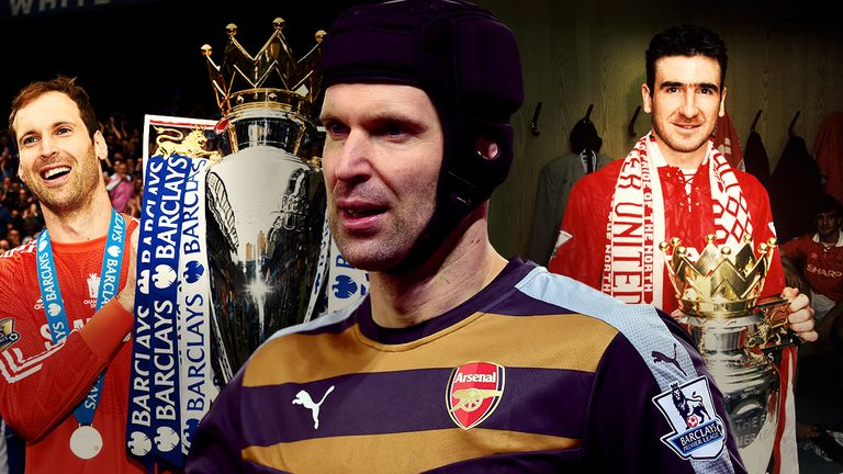 Can Petr Cech emulate Eric Cantona and win back-to-back titles with different clubs?
