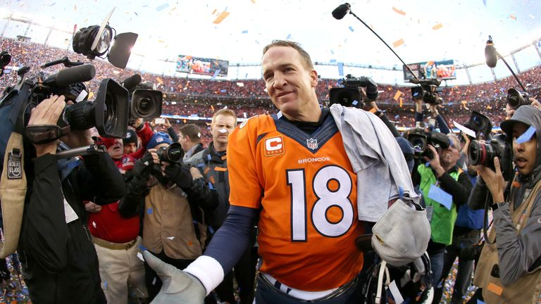 Peyton manning von miller and cam newton feature in neil reynolds peyton manning will make another super bowl appearance voltagebd Choice Image