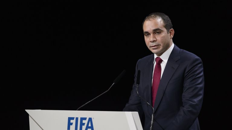 Prince Ali Bin Al Hussein is hoping to replace Sepp Blatter as FIFA president