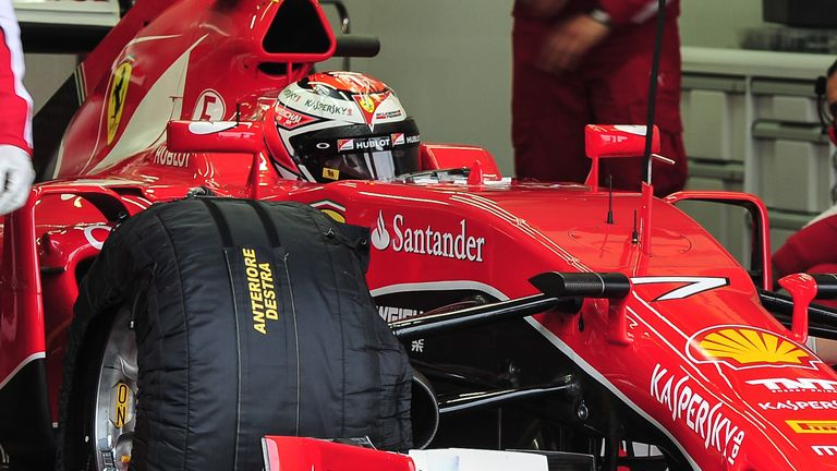While Raikkonen returned to work on Monday, it's understood that Vettel drove a two-year-old at Ferrari's test track last week
