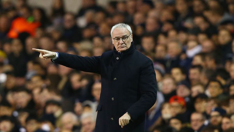 Claudio Ranieri is looking to improve Leicester's strikeforce