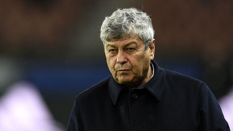 Shakhtar Donetsk coach Mircea Lucescu