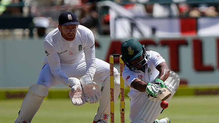 Bavuma struck 16 boundaries on day four at Newlands