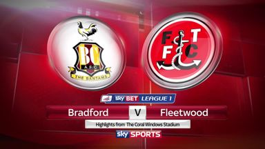 Bradford 2-1 Fleetwood