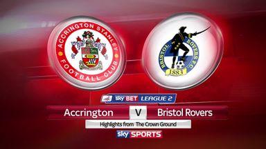 Accrington 1-0 Bristol Rovers