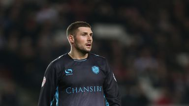 Gary Hooper scored twice for Sheffield Wednesday