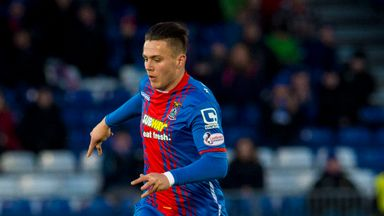 Miles Storey scored 13 goals on loan for Inverness Caledonian Thistle last season