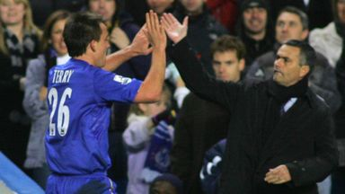 Terry was made Chelsea captain when Jose Mourinho arrived at the club in 2004