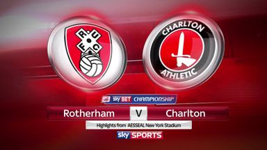 Rotherham 1-4 Charlton