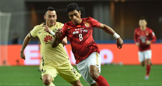 Paulinho has lifted the Chinese Super League title with Guangzhou Evergrande in his first two seasons