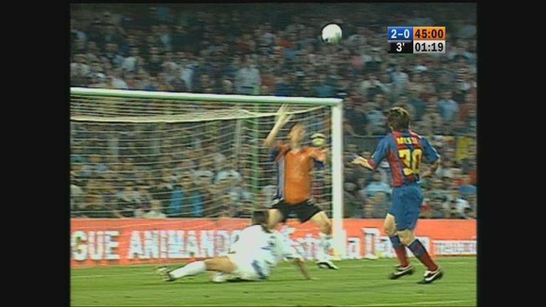 Messi's milestones - 1st La Liga goal | Video | Watch TV ...