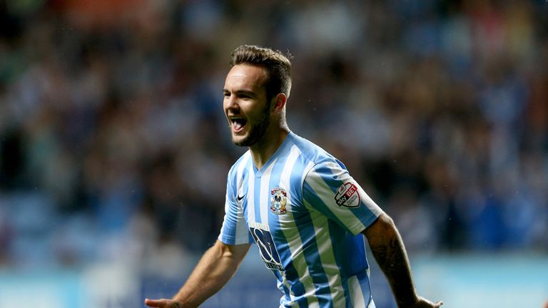 Adam Armstrong's goals propelled Coventry up the table early in the season