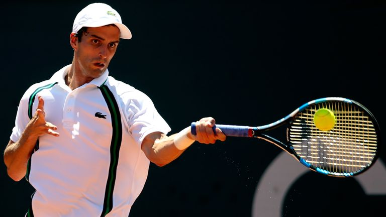 Albert Ramos-Vinolas is a potentially tough foe for Richard Gasquet