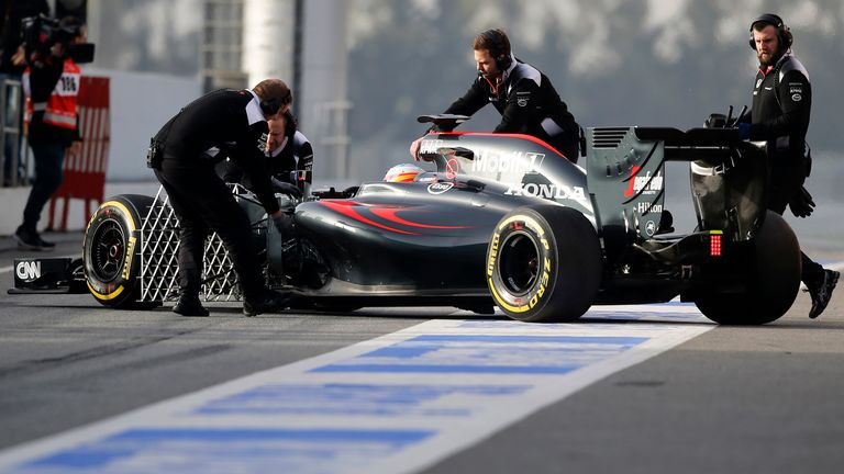 Alonso has already topped his mileage count from the whole of 2015 testing