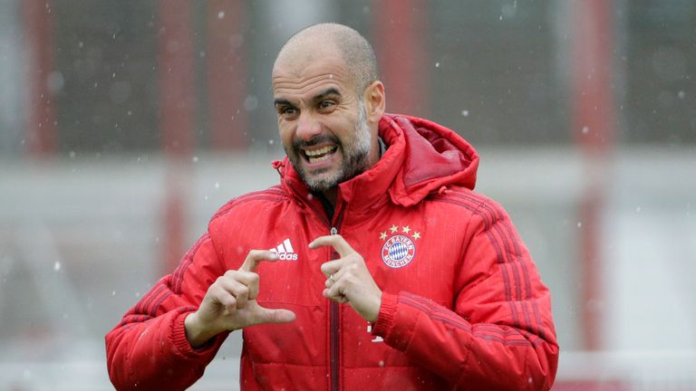 Pep Guardiola will take over as Manchester City manager in the summer