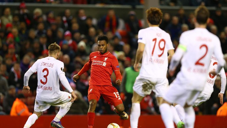 Daniel Sturridge did not manage to score a second goal for Liverpool