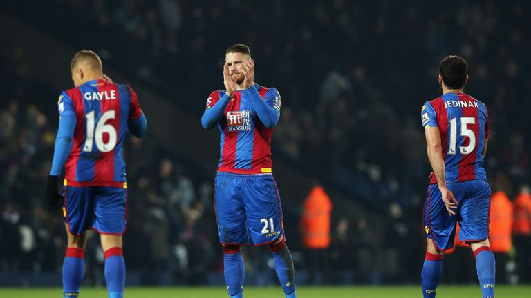 Crystal Palace's poor form is a major concern for Alan Pardew