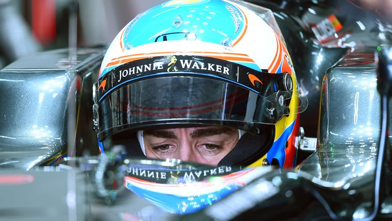 Alonso said he was looking forward to starting to focus on set-up work