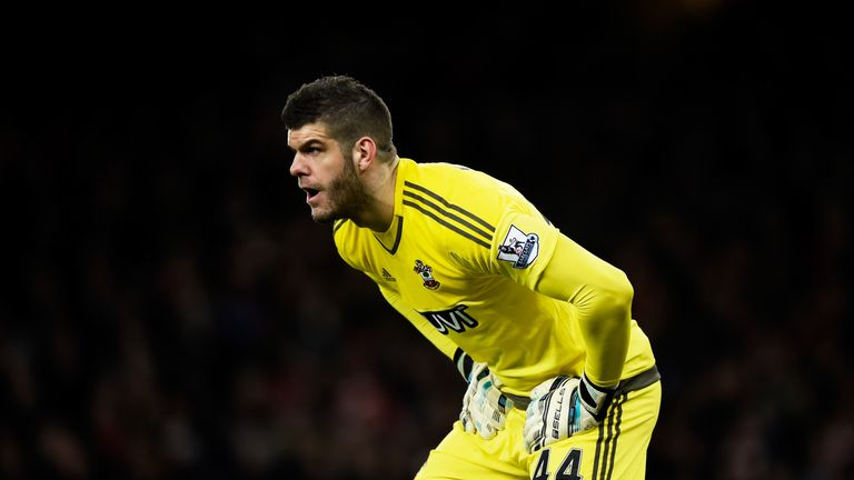 Fraser Forster has been a key figure for Southampton in recent weeks