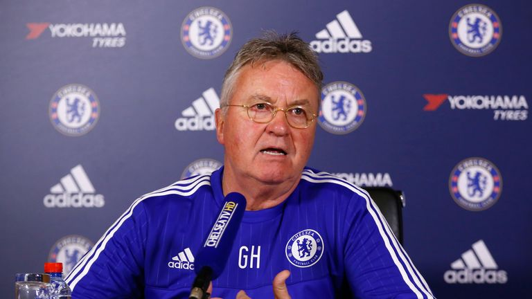 Hiddink is not planning to remain at Chelsea beyond the end of the season