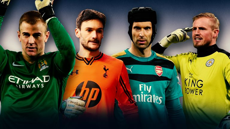 Which of the Premier League's top four teams have the best-performing 'keeper?