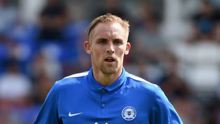 Jack Collison, in action for Peterborough, has retired aged 27