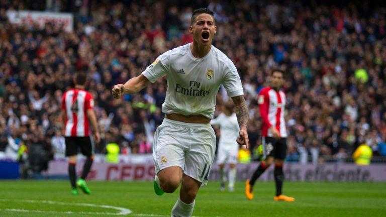 Zinedine Zidane has backed James Rodriguez