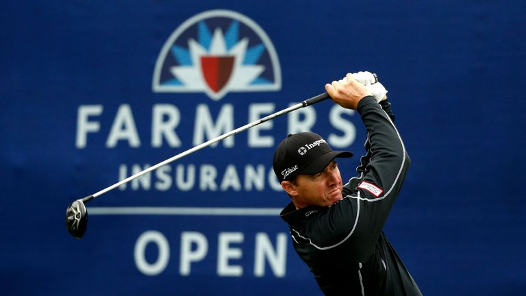 Jimmy Walker was the on-course leader when play was abandoned
