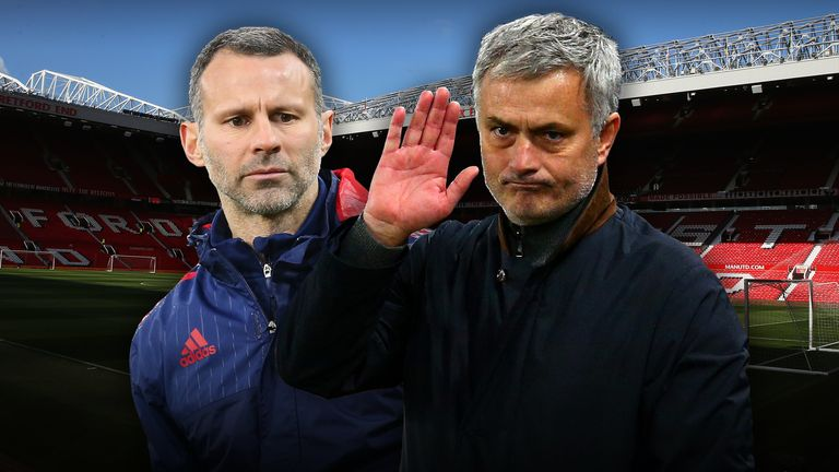 Mourinho and Ryan Giggs are the two favourites to be the next Man Utd boss