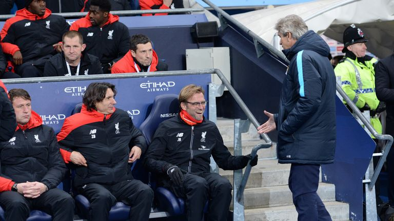 Jurgen Klopp and Manuel Pellegrini will both be desperate to lift the trophy