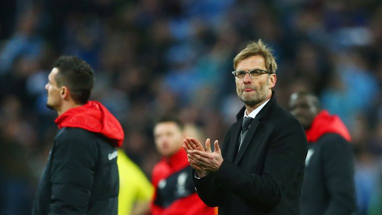 Jurgen Klopp is focussed on Liverpool's Premier League form