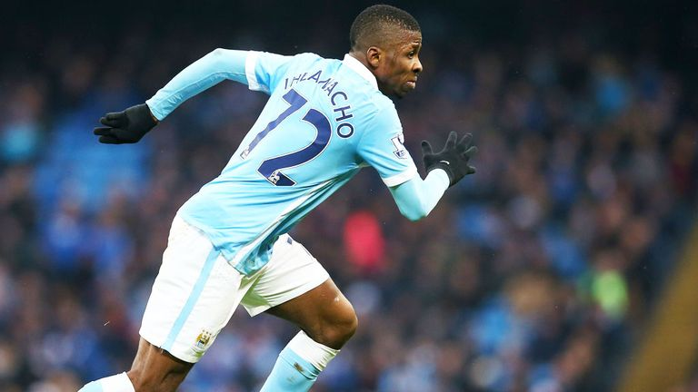 Kelechi Iheanacho has shown lots of promise for Manchester City this season