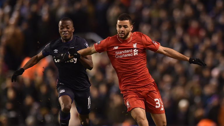 Kevin Stewart made his debut for Liverpool against Exeter in the FA Cup last month