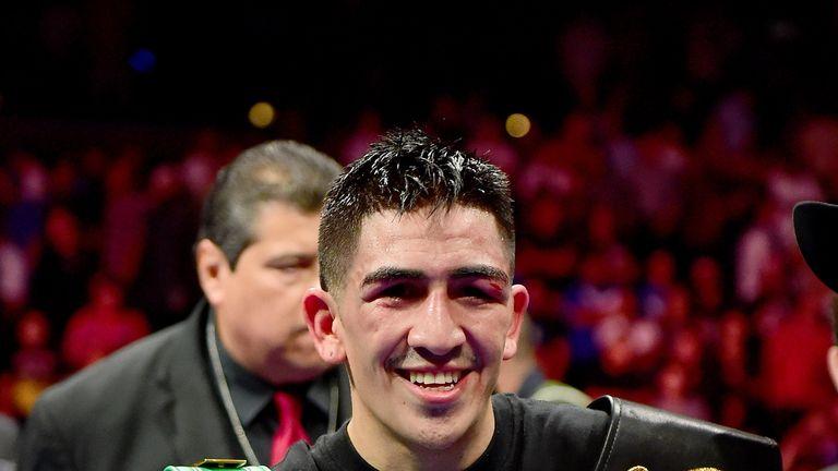 Leo Santa Cruz is a three-weight world champion