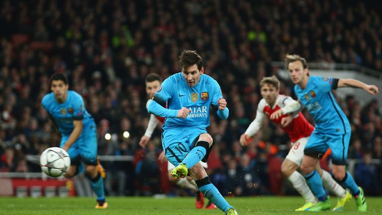 The Gunners have to overturn Barcelona's two-goal first leg lead on Wednesday
