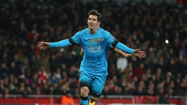 Lionel Messi says Arsenal tie is not over