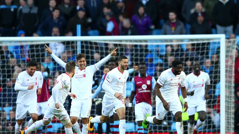 Liverpool beat Villa 6-0 last time out in the Premier League