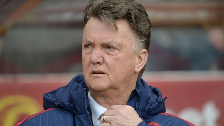 Van Gaal's future has been almost permanently in the spotlight since a bright start to the season