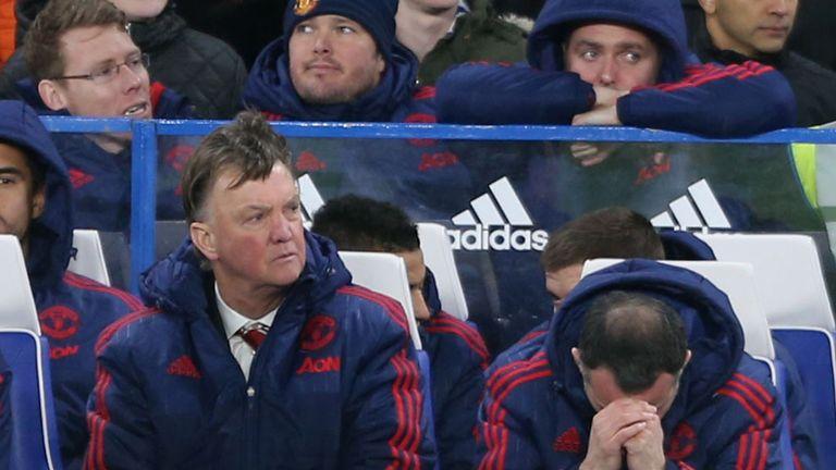 Louis van Gaal's Man Utd drew with Chelsea last weekend