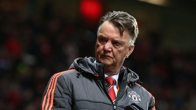 Louis van Gaal has suggested Manchester United are singled out in the media