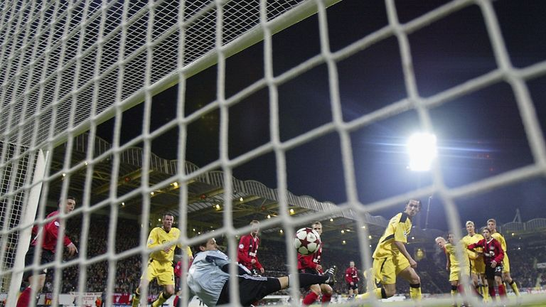 Luis Garcia was on target as Liverpool beat Bayer Leverkusen 3-1 in 2005