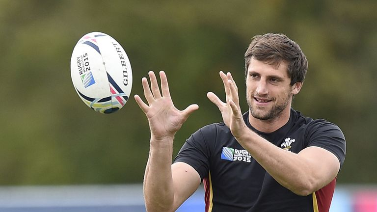 Luke Charteris expects a tough battle with France