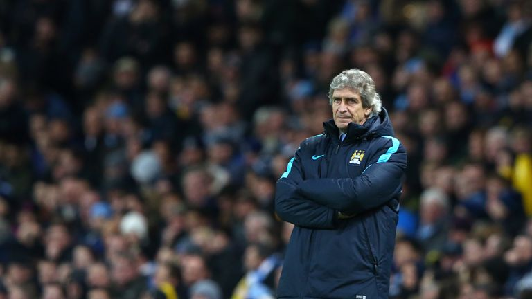 Manuel Pellegrini has put his faith in the teenage striker