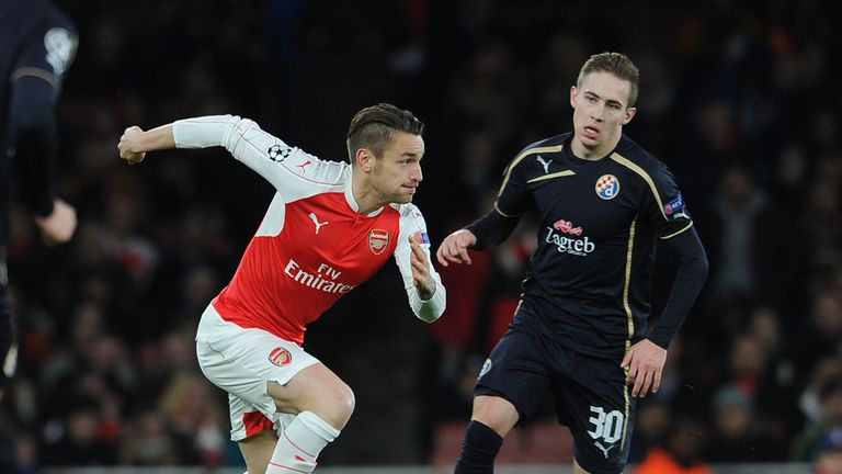 Mathieu Debuchy (left) wants regular football to stake his Euro 2016 claim