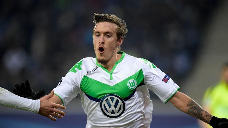 Max Kruse scored Wolfsburg's third