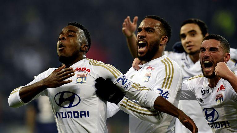 Resultado de imagen de Lyon  2-1  PSG