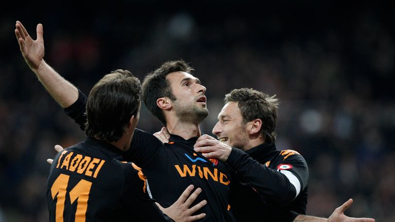 Mirko Vucinic scored a 90th-minute winner in the Bernabeu in the side's last Champions League clash