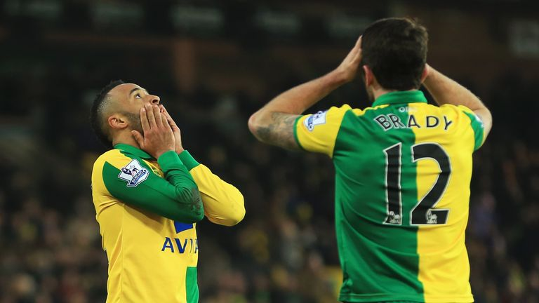 Norwich threw two points away at home to West Ham