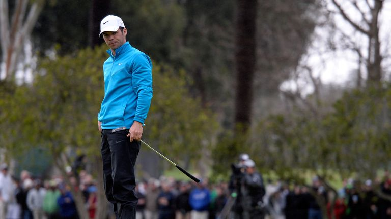 Paul Casey was part of last year's three-way play-off