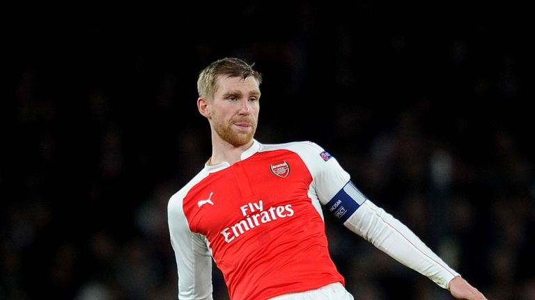 Per Mertesacker is also in confident mood